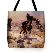 Russell Charles Marion At Rope S End Tote Bag