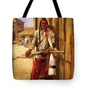 Russell Charles Marion Buffalo Coat Tote Bag