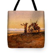 Russell Charles Marion Invocation To The Sun Tote Bag