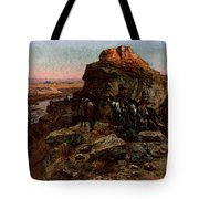 Russell Charles Marion Planning The Attack Tote Bag