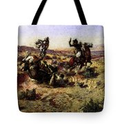 Russell Charles Marion The Broken Rope Tote Bag