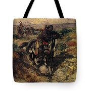 Russell Charles Marion The Scouting Party Tote Bag