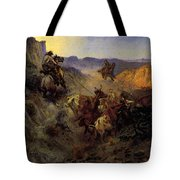 Russell Charles Marion The Slick Ear Tote Bag