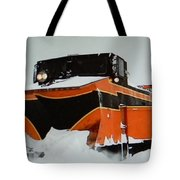 Russell Train Snow Plow Tote Bag