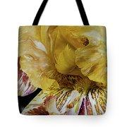 Russet And Umber Iris Tote Bag