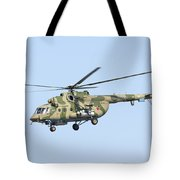 Russian Air Force Mi-171sh Helicopter Tote Bag