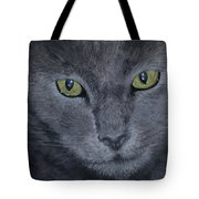 Russian Blue Tote Bag