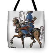 Russian Horseman, C1577 Tote Bag