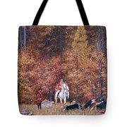 Russian Hunting Tote Bag