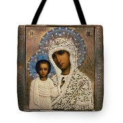 Russian Icon: Mary Tote Bag