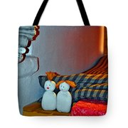 Russian Oven. Ancient Art.  Tote Bag