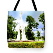 Russian Peace Tower Tote Bag
