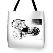Russian Rat Rod Tote Bag