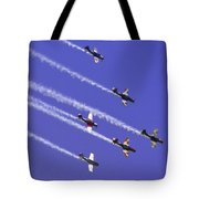 Russian Roolettes And Blue Sky Tote Bag