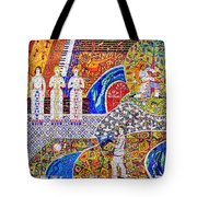 Wall Of Life Tote Bag