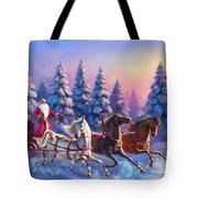 Russian Three-horse Tote Bag