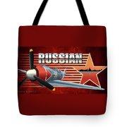 Russian War Bird Tote Bag