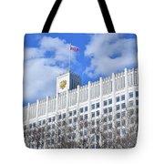 Russian White House Tote Bag