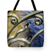 Russian Wrought Iron Tote Bag by KG Thienemann