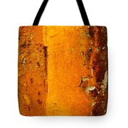 Rust Abstract 2 Tote Bag