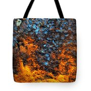 Rust Abstract 3 Tote Bag