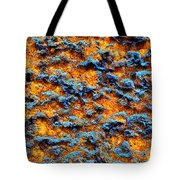 Rust Abstract 6 Tote Bag