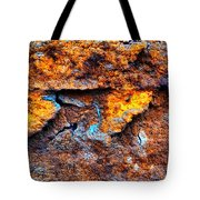 Rust Abstract 9 Tote Bag