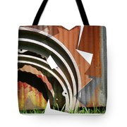 Rust And Our Carbon Footprint Tote Bag