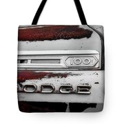 Rust Dodge 6 Selective Color Tote Bag