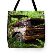 Rust In Peace 2 Tote Bag