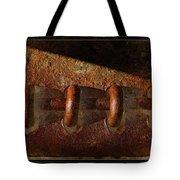 Rust Rings Tote Bag