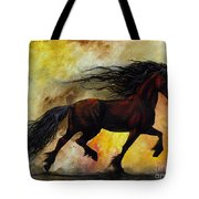 Rust Unicorn Tote Bag