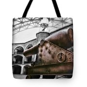 Rusted Cannon Tote Bag