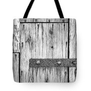 Rusted Lock And Cracked Window Tote Bag