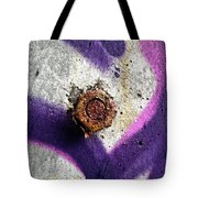 Rusted Nut Tote Bag