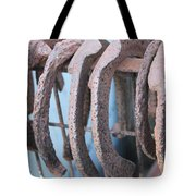 Rusted Shoes Tote Bag