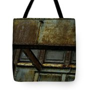 Rusted Steel Support Structure Tote Bag