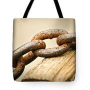 Rusted Strength Tote Bag