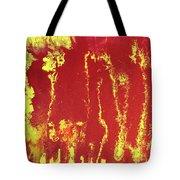 Rusted Sun Tote Bag