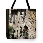 Rustic Provence Alley Tote Bag