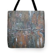 Rustic Barn Wood And Wire Tote Bag