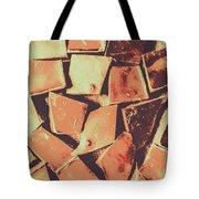 Rustic Choc Block Tote Bag