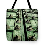 Rustic Church Door Tote Bag