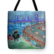 Rustic-city Tote Bag