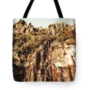 Rustic Cliff Spring Tote Bag
