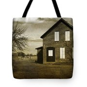 Rustic County Farm House Tote Bag