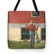Rustic Courtship Tote Bag