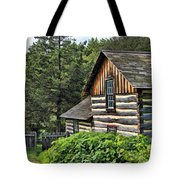 Rustic Farmhouse At Old World Wisconsin Tote Bag