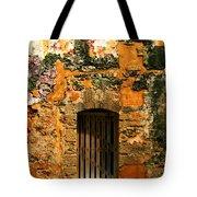 Rustic Fort Door Tote Bag