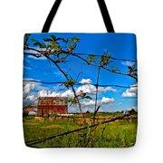 Rustic Frame Paint Tote Bag